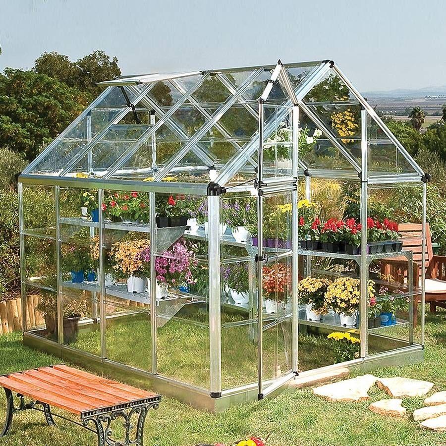 snap u0026 grow 6ft x 8ft hobby greenhouse
